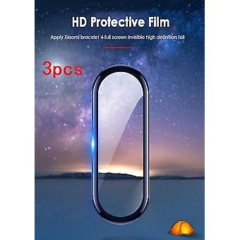 1/2/3pcs 3d Tempered Glass-screen-protector For Xiaomi Mi-band 4