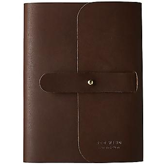 Red Wing Journal Unisex Diary Notebook in Amber