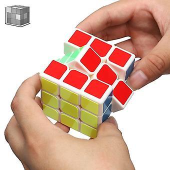 Qiyi 3 * 3 * 3 Professional Magic Cube Prędkości Puzzle Fidget Zabawka, Edukacyjna Kostka