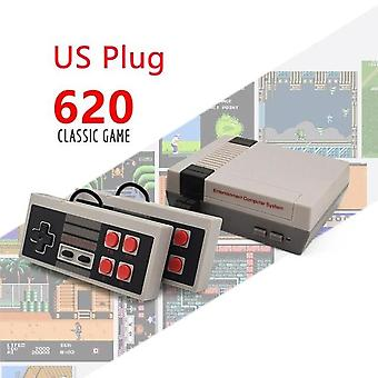 Built-in 500/620 Games Mini Tv Game Console, 8 Bit Retro Classic Handheld