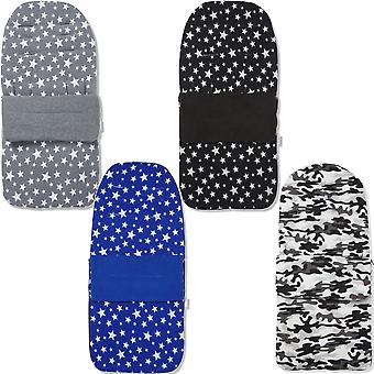 Universal Fleece Pushchair Footmuff / Cosy Toes - Fits All Pushchairs / Prams And Buggies