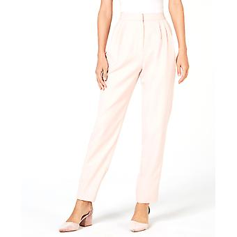 Leyden | Pleated Satin-Striped Pants