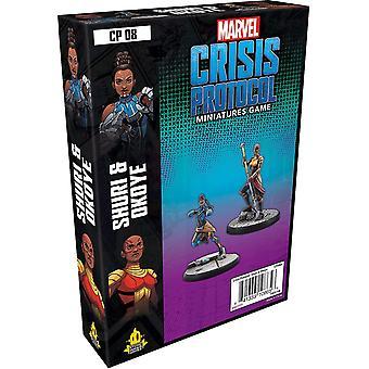 Marvel Crisis Protocol Shuri & Okoye