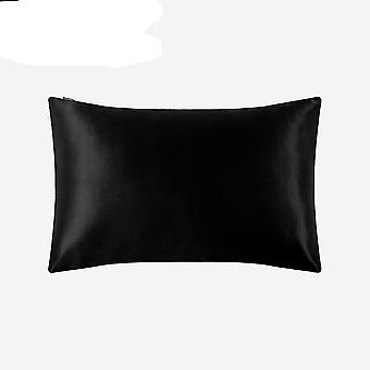Luxury Pillowcase With Hidden Zipper - Momme Terse Color, Men, Kids,