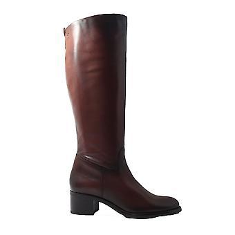 Tamaris 25569 Brown Leather Womens Long Leg Boots
