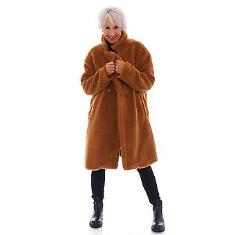 Made In Italy Cam Teddy Coat