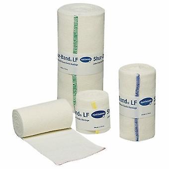 Hartmann Elastic Bandage 6 Inch X 5 Yard Enkele Haak en Lus, 1 Rol