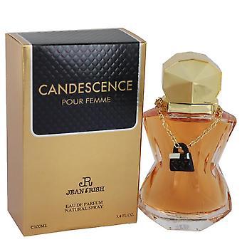 Candescence eau de parfum spray by jean rish 540900 100 ml