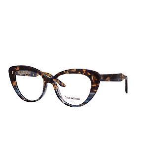 Cutler and Gross 1350 04 Woodstock Blue Glasses