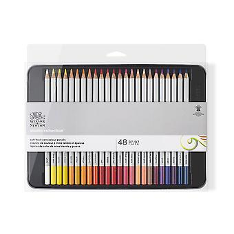 Winsor & Newton Studio Collection Colour Pencils 48 Set