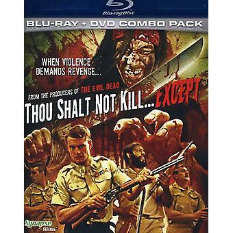 Thou Shalt Not Kill Except [BLU-RAY] USA import