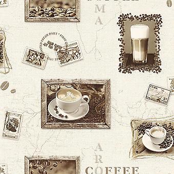 Rasch Coffee Motif