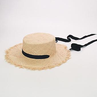 Cappello da sole a nastro, caps Uv beach estivi per bambini