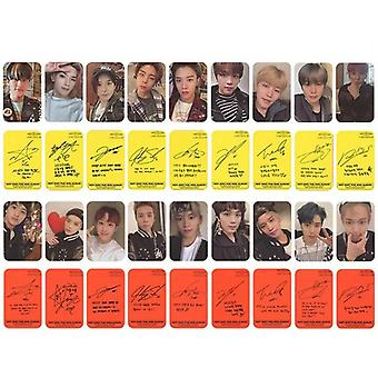 Neo Zone New Album Photocard Self Made Photo Cards Photograph Lomo Card