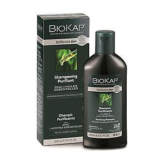 Bellezza organic purifying shampoo 200 ml