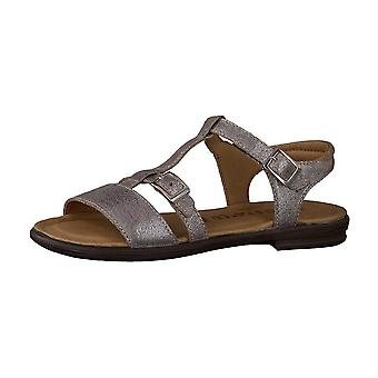 RICOSTA Open Toe Open Heal Sandal Pewter