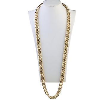 Oulii hip hop κολιέ βιαστής κολιέ 95 cm γοτθικό χιπ χοπ ογκώδη αλυσίδα για τους άνδρες γυναίκες κοσμήματα decora
