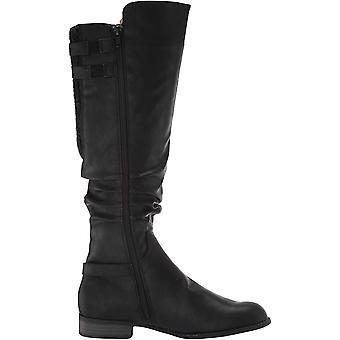 Life Stride Womens Faunia Black High Shaft Boots 7 M