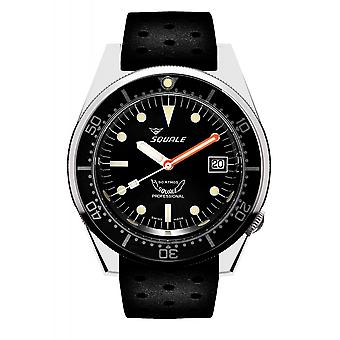 Squale 1521CL.NT 500 Meter Swiss Automatic Dive Wristwatch Rubber