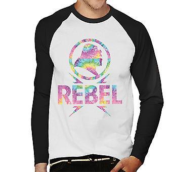 Shrek Rebel Multicolour Men's Baseball Long Sleeved T-Shirt