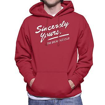 The Breakfast Club Sincerely Yours Men's Hooded Sweatshirt