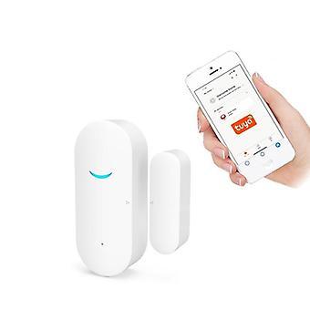 Smart Wifi ajtóérzékelő ajtó nyitva / zárt érzékelők Wifi Home Alarm kompatibilis
