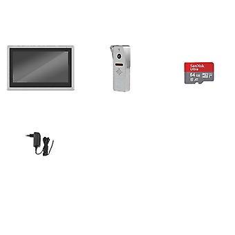 berøringsskjerm 1080p dørklokke smart telefon sanntidskontroll