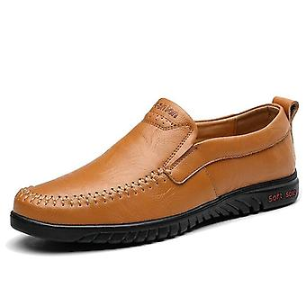 Genuine Leather Comfortable Men Casual Shoes Footwear