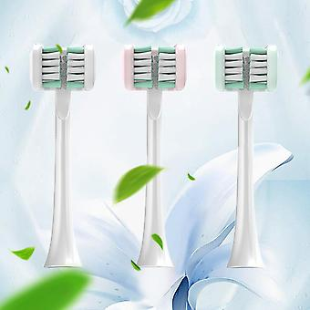 Sonic Electric U-shaped Timer Three-side Brush Head For Toothbrush