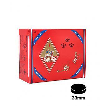 Kul tre konger 33mm box af 100
