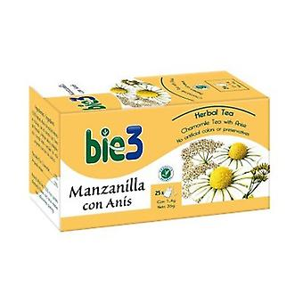 Bie3 Chamomile with anise 25 infusion bags