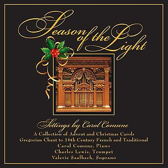 Carol Comune - Saison des Lichts: A Collection of Advent & Chri [CD] USA Import