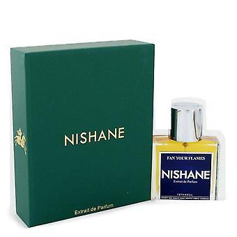 Fan Your Flames Extrait De Parfum Spray (Unisex) By Nishane 1.7 oz Extrait De Parfum Spray