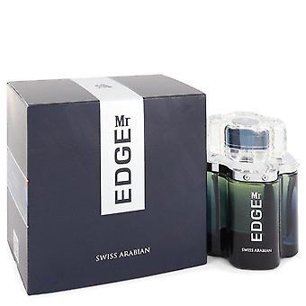 Mr Edge Eau De Parfum Спрей от Swiss Arabian 3.4 унции Eau De Parfum Spray