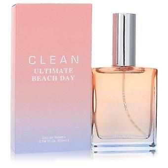 Clean Ultimate Beach Day Eau De Toilette Spray By Clean 2.14 oz Eau De Toilette Spray