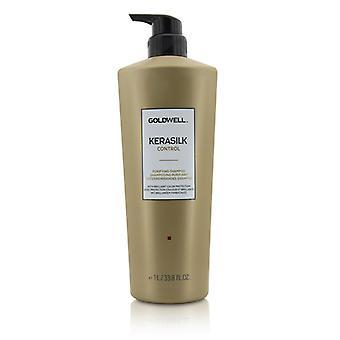 Goldwell Kerasilk Control Purifying Shampoo (For All Hair Types) 1000ml/33.8oz