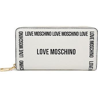 Love Moschino Taped Logo Zip Around Wallet