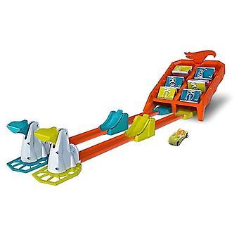 Kuumat pyörät hyppää toiminta lelu autorata