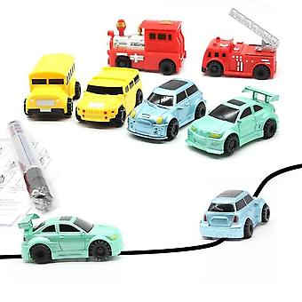 Engineering Vehicles, Mini Magic Pen Inductive's Truck/tank Toy Car