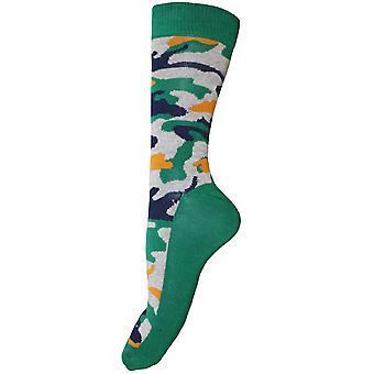Mens Camo Uutuus sukat (2 paria)