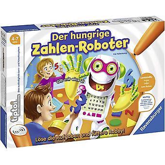 Wokex tiptoi Spiel 00706 Der hungrige Zahlenroboter, Lernspiel von Wokex ab 4 Jahre fr 1-4 Spieler,