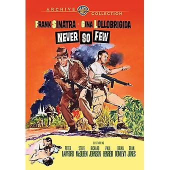 Never So Few [DVD] Usa tuo