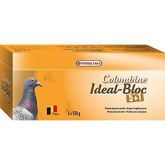 Versele Laga ideelle blokken duer Colombine 5 + 1 / 3,3 kg (fugler, kosttilskudd)
