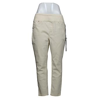 DG2 af Diane Gilman Women's Jeans LP Petite Skinny Jegging Ivory 733923