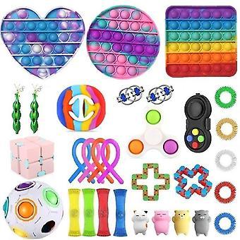 31st Pack Fidget Leksaker Sensory Toy Set Antistress Relief Fidget Leksaker