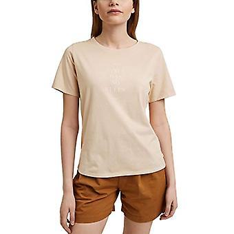 edc by Esprit 041CC1K324 T-Shirt, 270/BEIGE, X-Small Donna