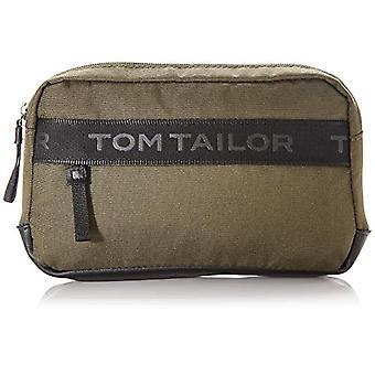 Tom Tailor Acc Matteo - Miesten olkalaukut, vihreä (Khaki), 24x16x5,5 cm (L x H L)