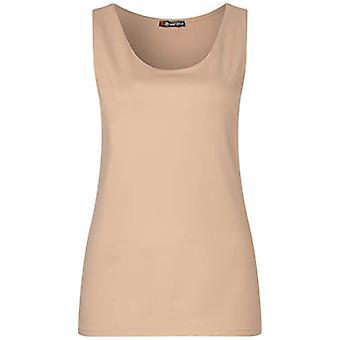 Street One 314800 T-Shirt, Nude Beige, 46 Woman