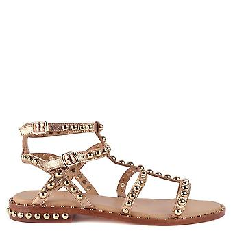 Ash PRECIOUS Sandals Rose Gold Leather