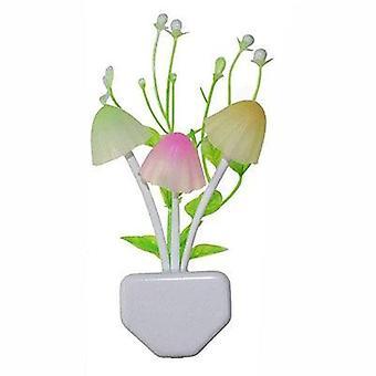 7 Color Changing Dusk To Dawn Sensor Flower Led Night Light